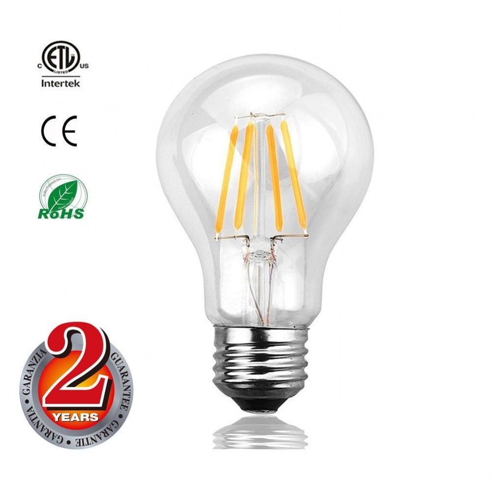 Mizzuco Vintage Edison Led Bulb 3 5w A19 Antique Light 40 Watt Equivalent Warm White