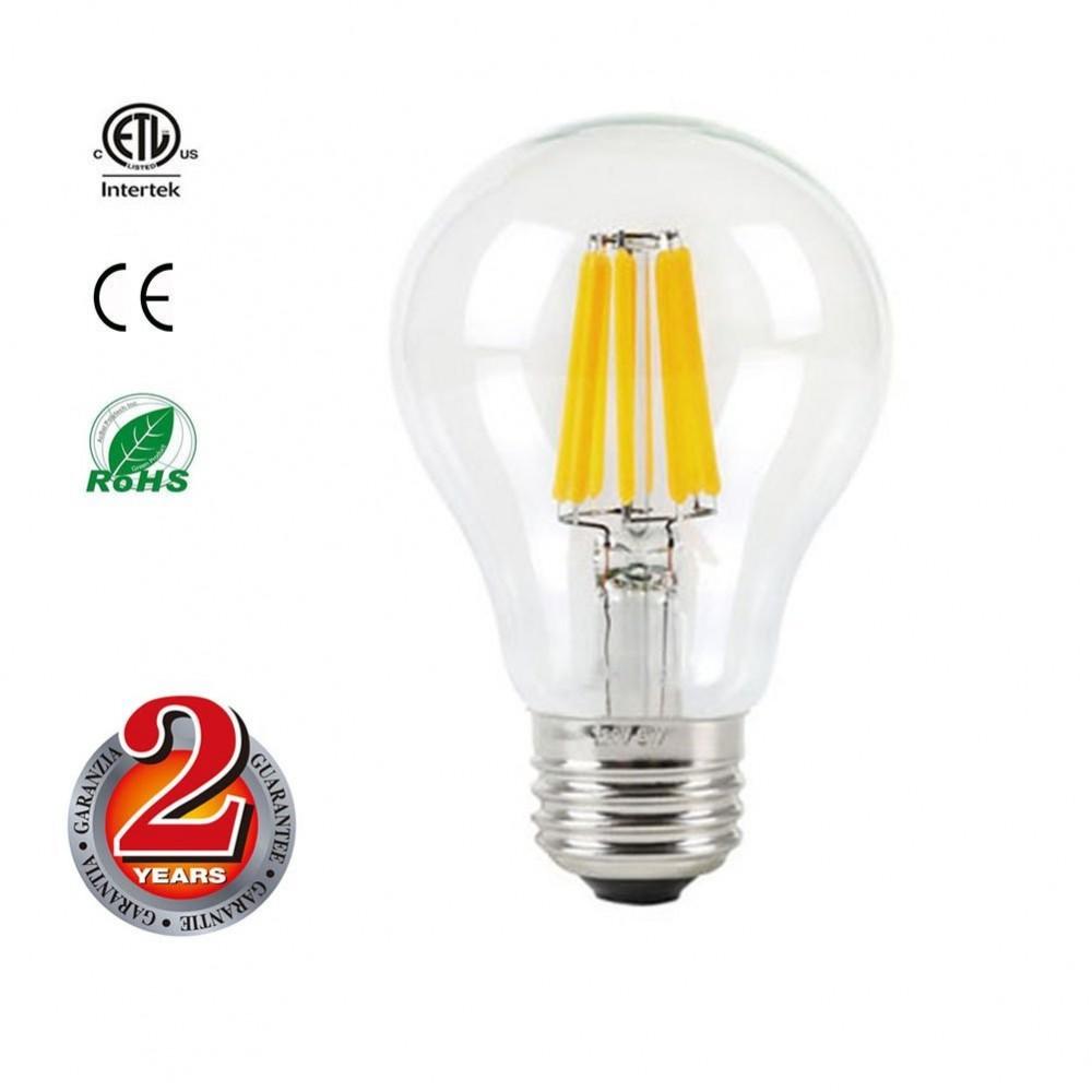 Mizzuco Vintage Edison Led Bulb 6 5w A19 Antique Light 75 Watt Equivalent Warm White